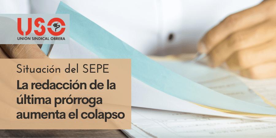 El redactado de la última prórroga de los ERTE provoca un nuevo atasco en el SEPE