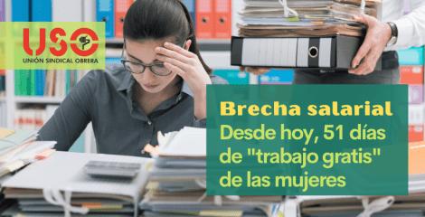 """""""Soy mujer, desde hoy trabajo gratis"""", 51 días de brecha salarial en Europa"""