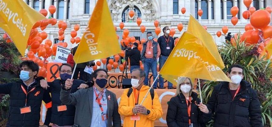 Multitudinaria protesta contra la falta de diálogo y consenso de la Ley Celaá