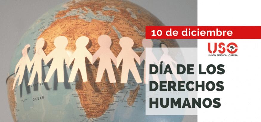 USO reafirma su compromiso con los Derechos Humanos