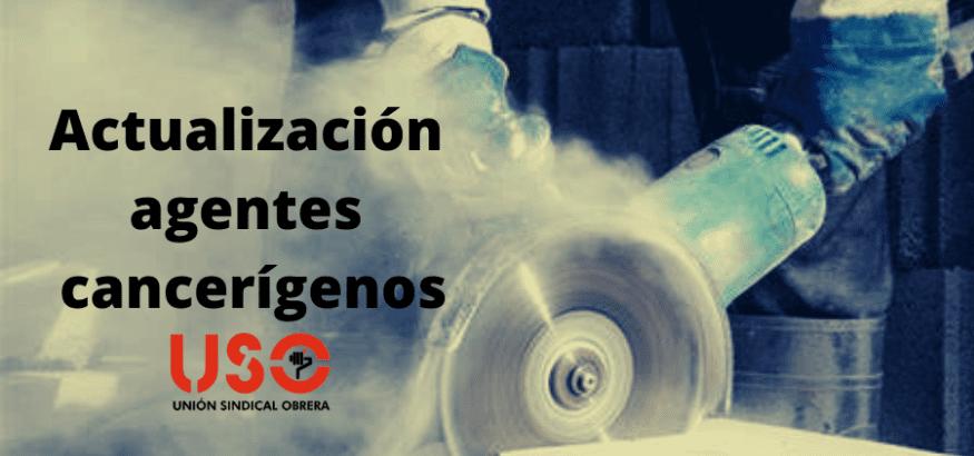 Actualizados los agentes cancerígenos en el entorno laboral
