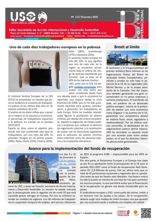 Boletín Internacional Nº 117
