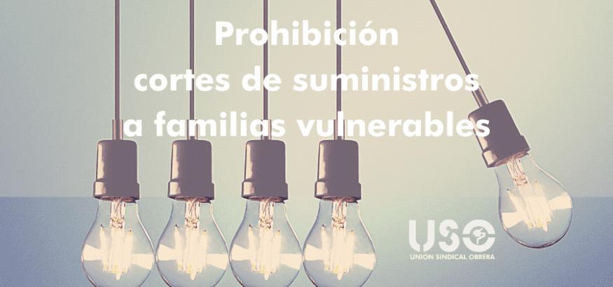 Prórroga de la prohibición de cortes de luz, agua y gas