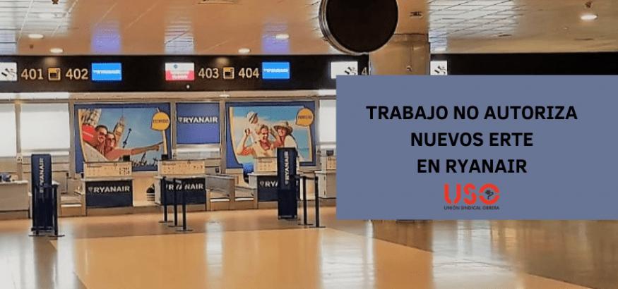 La Dirección General de Trabajo no autoriza dos nuevos ERTE a Ryanair