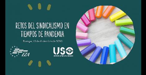 USO participa en un seminario sobre retos del sindicalismo en pandemia
