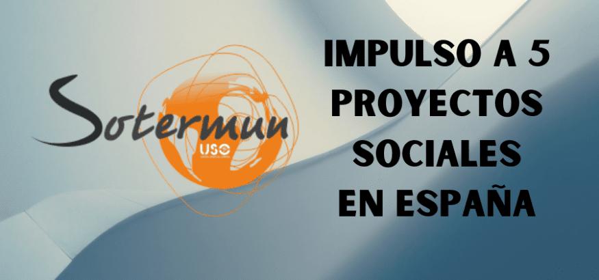 Sotermun impulsa 5 nuevos proyectos sociales en España