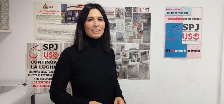 Gema Benítez, nueva secretaria general de SPJ-USO