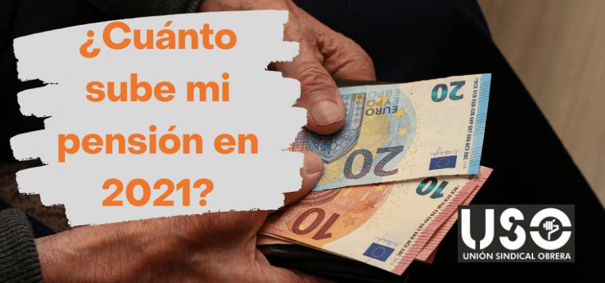 Subida de las pensiones en 2021: ¿cuánto sube mi pensión según el tipo?