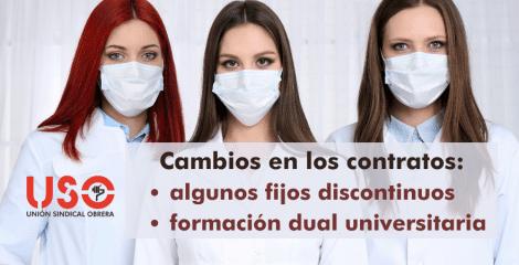 Fijos discontinuos y formación dual universitaria: novedades en el contrato