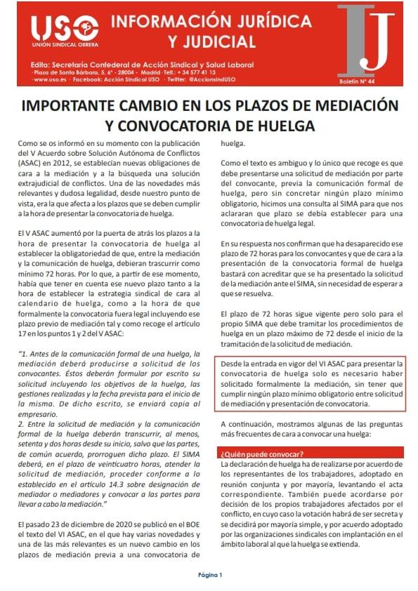 Información Jurídica y Judicial nº 44