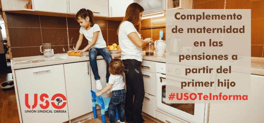 Complemento de maternidad en las pensiones y otras medidas contra la brecha de género