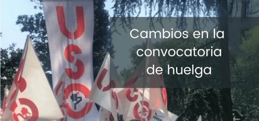 Importante cambio en los plazos de mediación y convocatoria de huelga