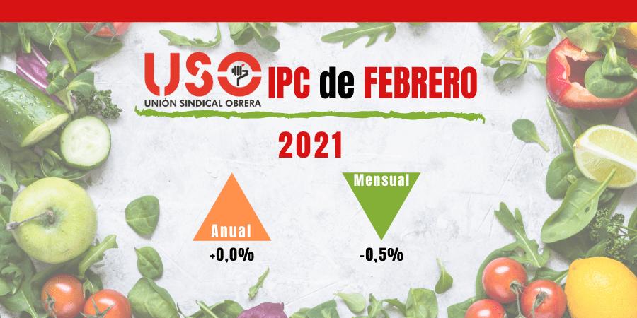 IPC plano en febrero con nuevo golpe a la economía familiar y la alimentación saludable