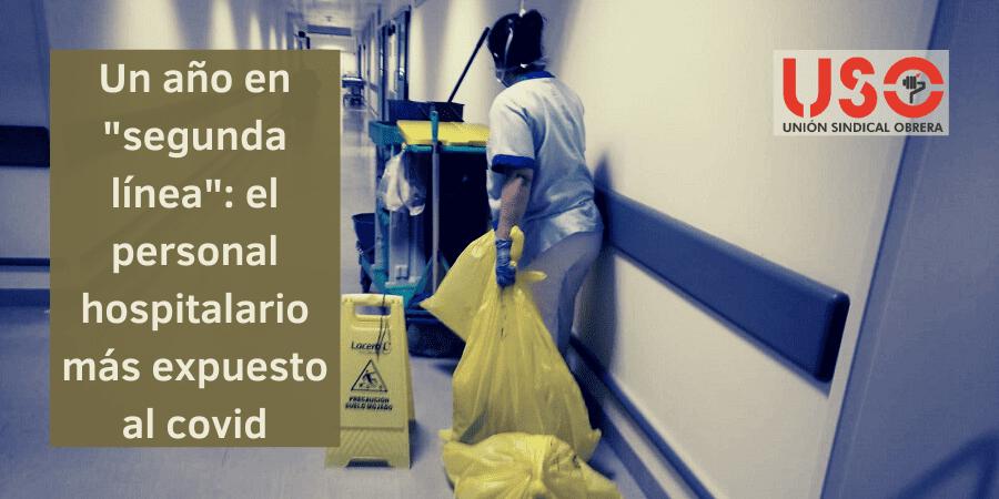 """La """"segunda línea"""": el personal hospitalario más desprotegido frente al covid"""