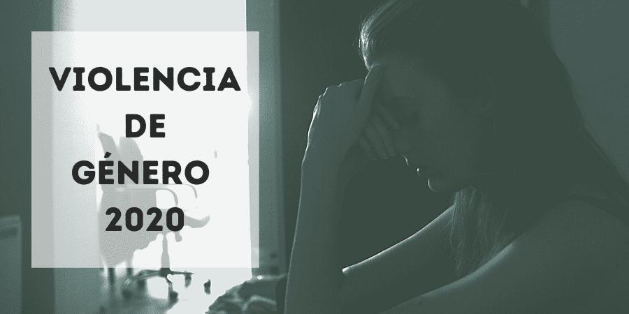 Violencia de género 2020. Caen las denuncias por la pandemia