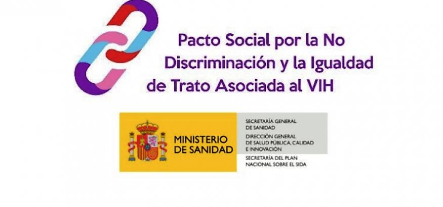 Firma del convenio del Pacto Social por el VIH