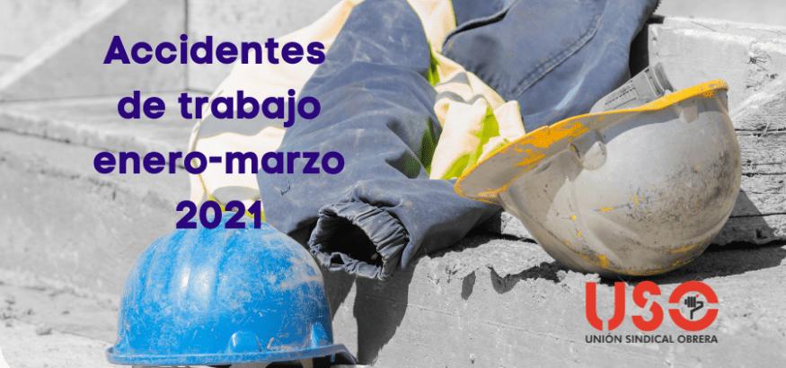 Aumentan los accidentes de trabajo hasta marzo