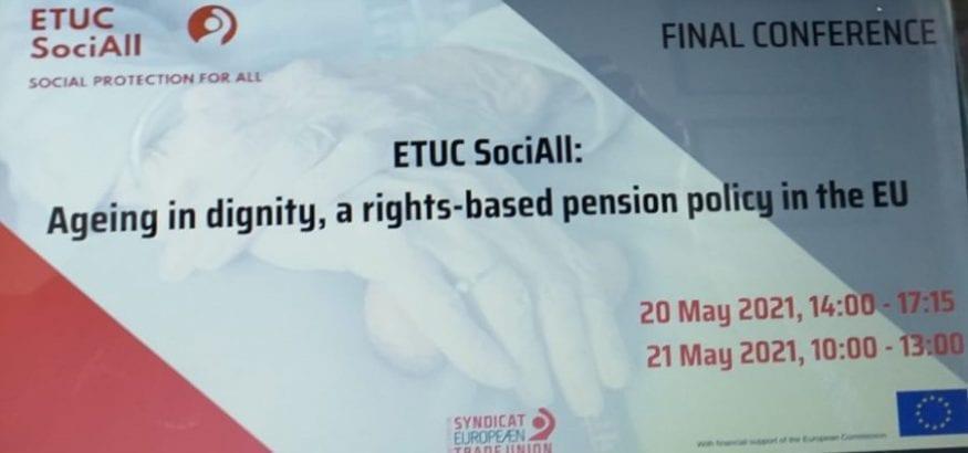 Conferencia Final CES Social: política de pensiones basada en los derechos