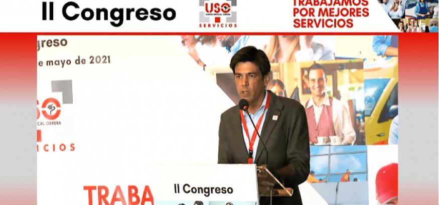 Arranca el II Congreso de la Federación de Servicios de USO