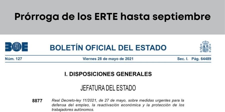 Todo lo que debes saber de la prórroga de los ERTE hasta septiembre
