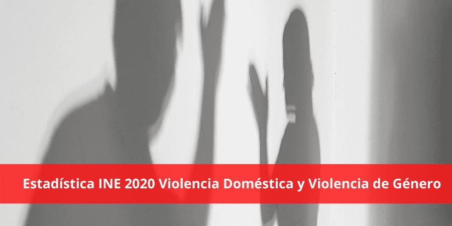 Estadística INE 2020: desciende la violencia de género y aumenta la doméstica