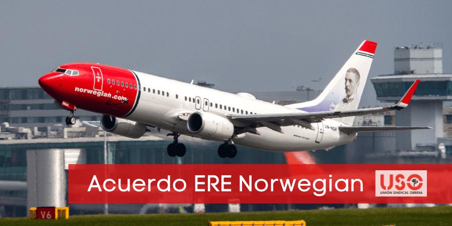 Acuerdo ERE Norwegian: se reduce en 216 los trabajadores afectados