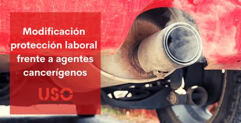 Modificación del RD que protege a los trabajadores frente a agentes cancerígenos