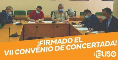 FEUSO firma el VII Convenio Colectivo de la Enseñanza Concertada
