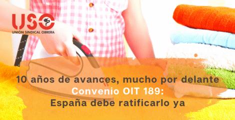 """10 años del Convenio OIT 189: """"hacer del trabajo doméstico un trabajo decente"""""""