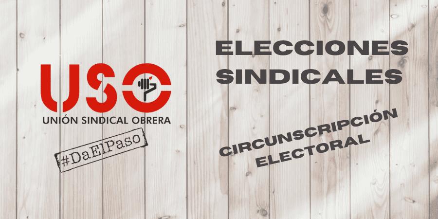 Elecciones sindicales: distintas circunscripciones electorales