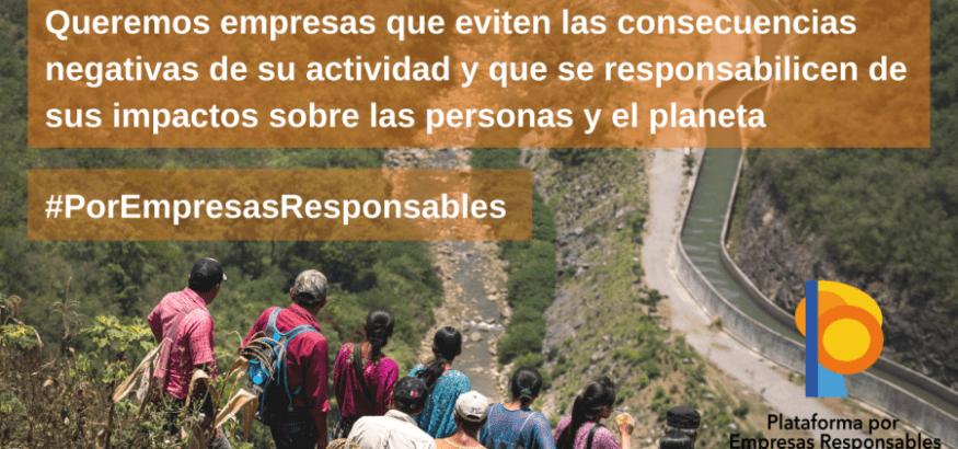 Nace la Plataforma por las Empresas Responsables