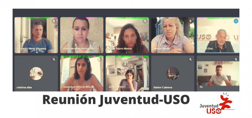 Los responsables de Juventud-USO perfilan su línea de trabajo para 2022