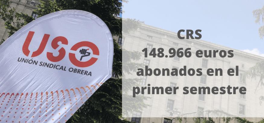 La Caja de Resistencia de USO abona 148.966 euros en el primer semestre