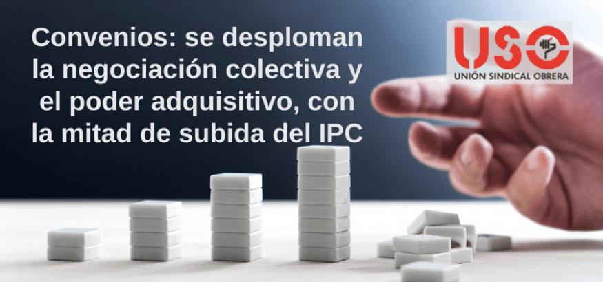 Desplome de la negociación colectiva y pérdida general de poder adquisitivo