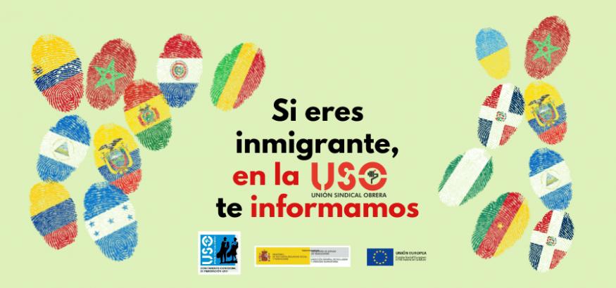 114 itinerarios del Programa de Empleo para Inmigrantes de USO