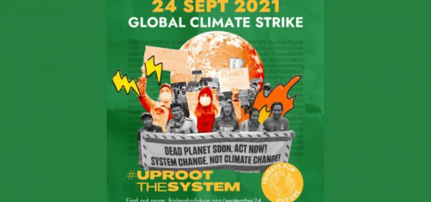 USO respalda la Huelga Global por el Clima