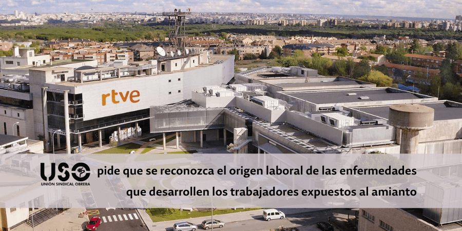 USO reclama a RTVE que proteja a sus trabajadores expuestos al amianto