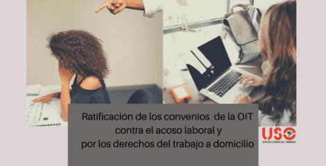 España ratificará el convenio 190 y 177 de la OIT