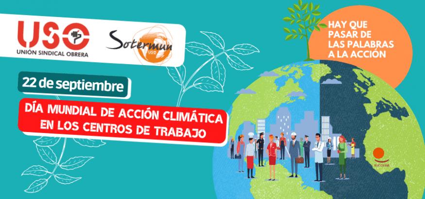 Día de Acción Climática en centros de trabajo: de las palabras a la acción
