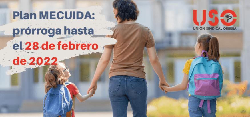 """Nueva prórroga del """"Plan Me Cuida"""" hasta el 28 de febrero de 2022"""