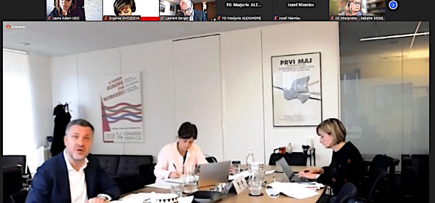 Comité Ejecutivo de la CES: construir una recuperación justa
