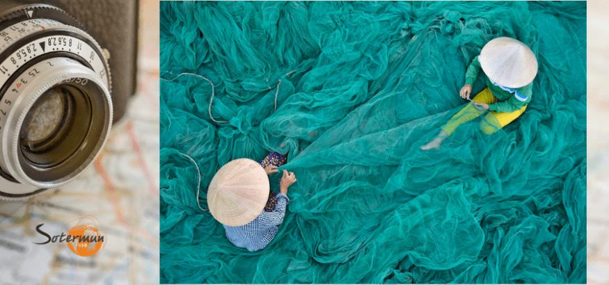 Tejedoras, ganadora del 10º Concurso Fotográfico de Sotermun