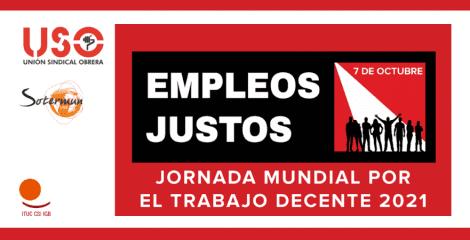 Jornada por el Trabajo Decente. Recuperación con pleno empleo, justo y sostenible