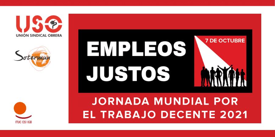 Jornada por el Trabajo Decente. Recuperación con pleno empleo, justo y  sostenible | Sindicato USO